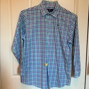 Long Sleeve Vineyard Vines Button Down Shirt